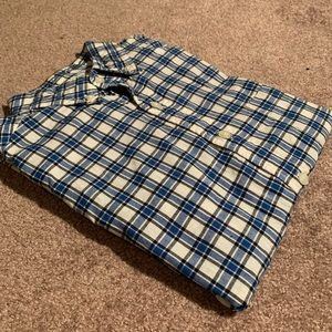 Mens Brooks Brothers Short Sleeve Shirt
